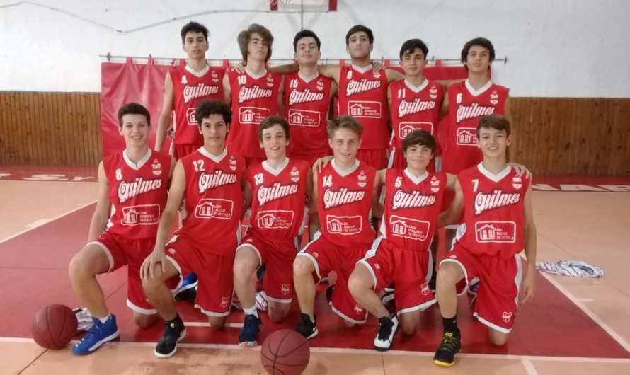 Club Quilmes buscará el título en las cuatro categorías del básquet de Chivilcoy