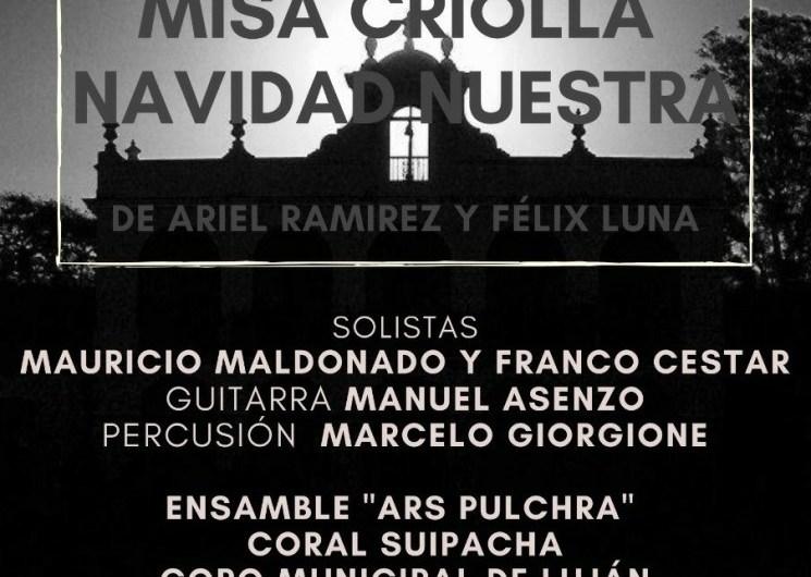 """Tres Coros se unen para la """"Misa Criolla"""" y """"Navidad Nuestra"""""""