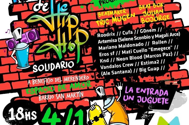 Festival de Hip Hop a beneficio de Espacio de Amor