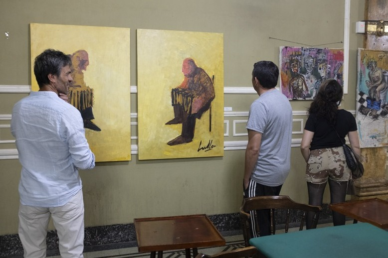 Artistas de distintas disciplinas expusieron el fin de semana
