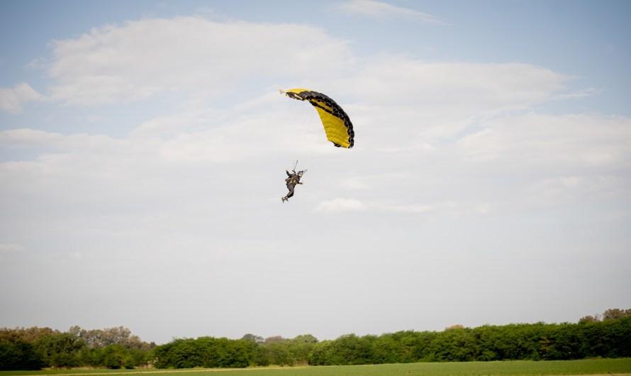 El paracaidismo en Mercedes es una realidad y ya se disfruta en el Aeroclub