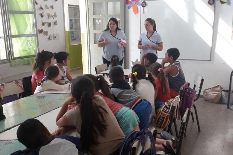 Salud bucal en las Escuelas de Verano
