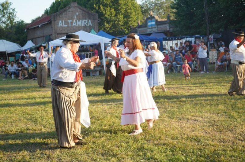 Altamira celebró 112 años con fiesta criolla