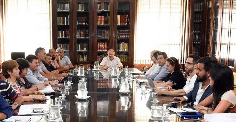 Provincia Se realizó la primera reunión de la mesa técnica salarial docente