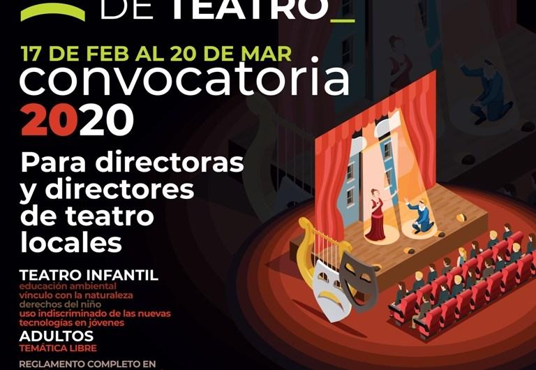 Convocatoria a directores de teatro para ciclo de la Comedia Municipal