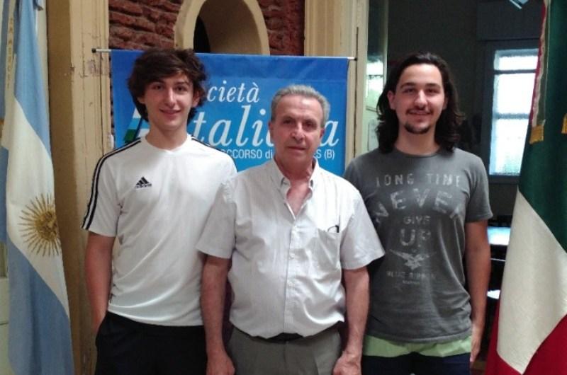 Sociedad Italiana beca jóvenes estudiantes para aprender italiano
