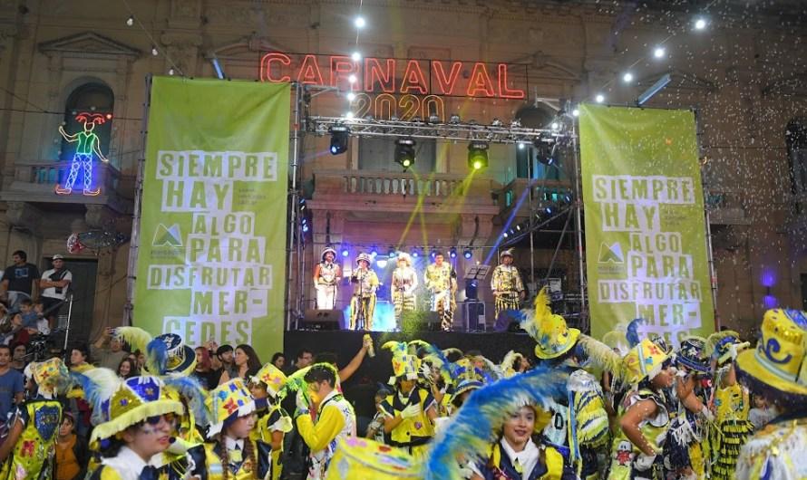 Finalizaron los masivos Carnavales Mercedinos y se conocieron sus ganadores