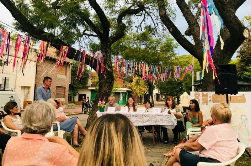 Participativa jornada en la Agrupación 17 de Octubre en el Día de la Mujer