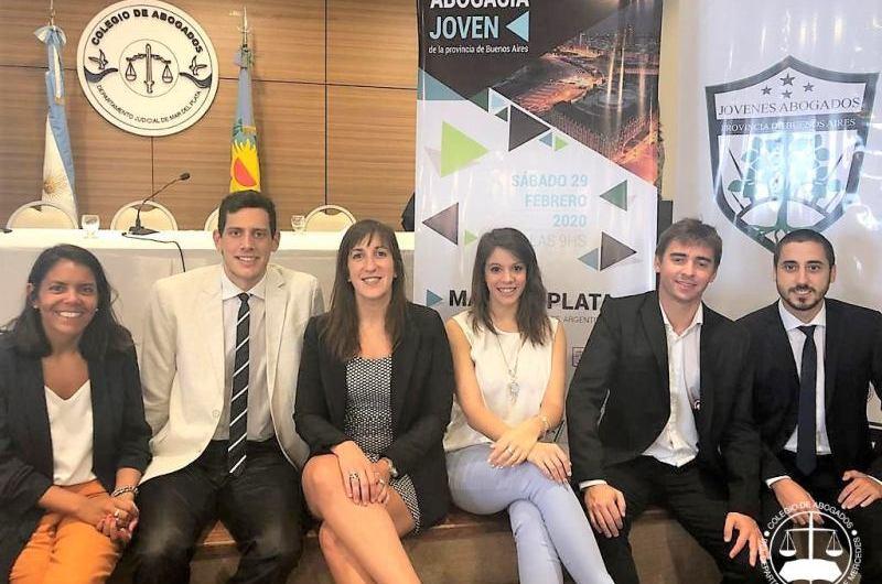 Jóvenes Abogados del CADJM participaron del plenario anual provincial