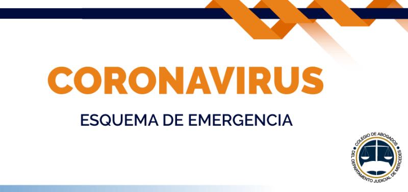 Coronavirus: Abogados brinda servicios restringidos