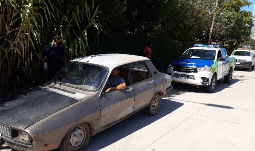 Mercedinos detenidos en S. A. de Giles por «llevar su vehículo en forma de pago» a dicha localidad