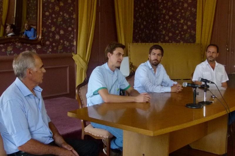 Coronavirus: conferencia de prensa entre Municipio, Hospital y Sociedad Rural