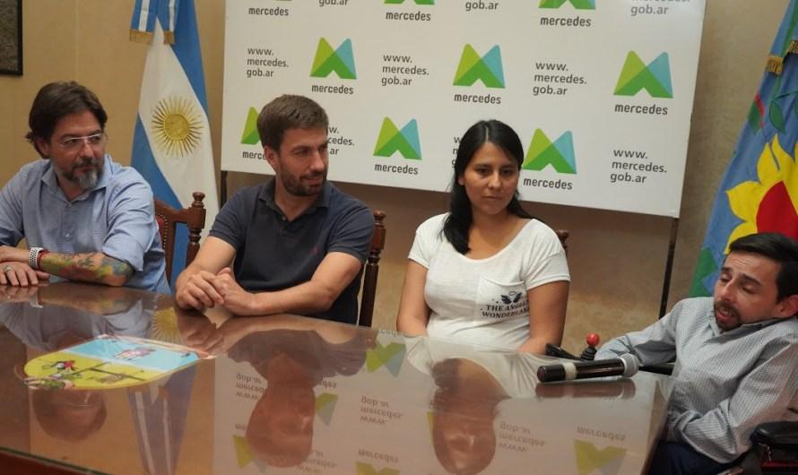 Intendente Ustarroz recibió al Director de la Agencia de Discapacidad Nacional