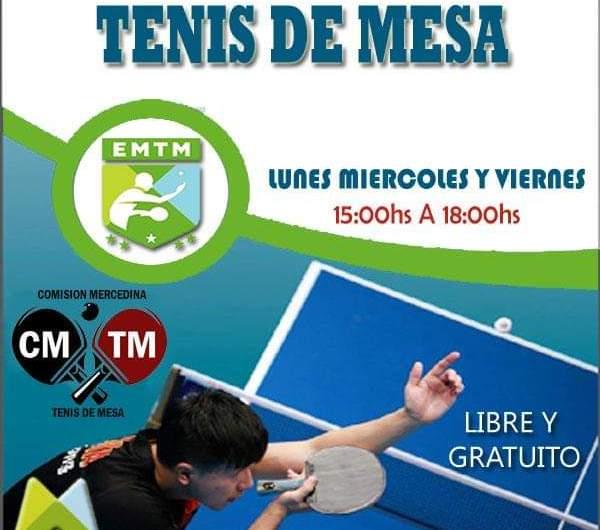 La Escuela Municipal de Tenis de Mesa cumplió diez años de vida
