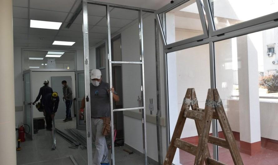 Avanza construcción de laboratorio epidemiológico en el Dubarry