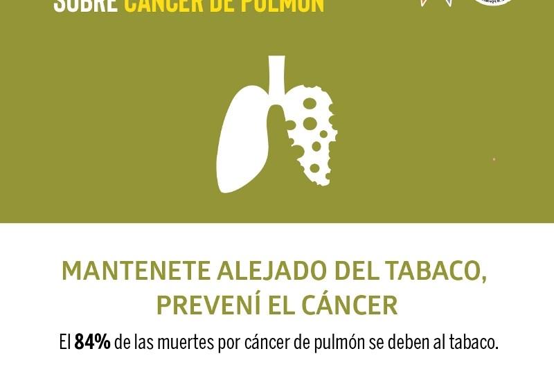 LALCEC en la semana de concientización sobre el cáncer de pulmón