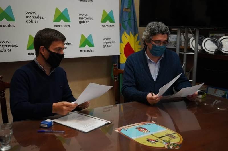 Firman convenio con el Ministerio de Desarrollo Agrario
