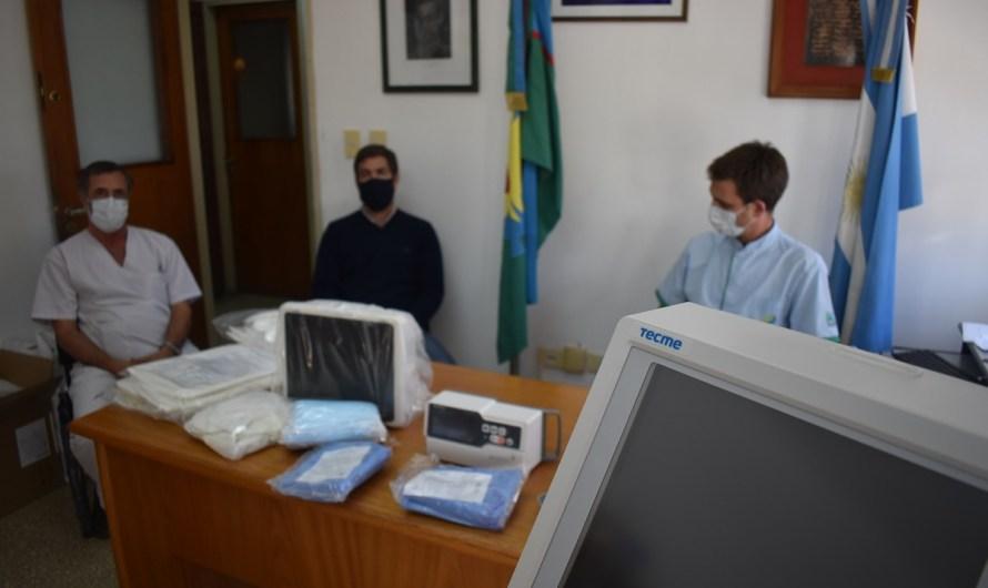 Provincia envió respiradores, instrumental e insumos médicos al Dubarry