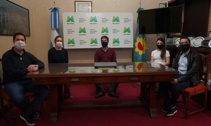 Ustarroz recibió a la ministra de trabajo bonaerense