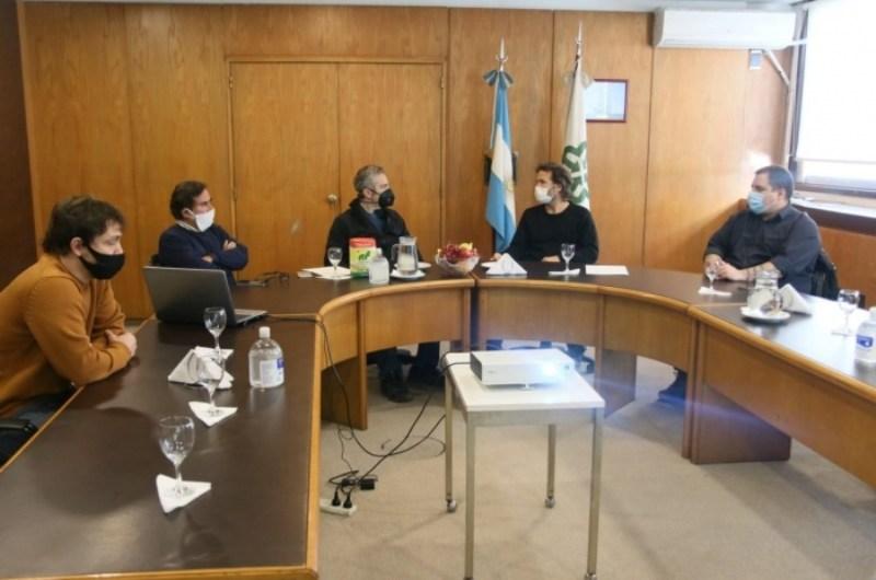 Acuerdo entre el Mercado Central y Desarrollo de provincia por políticas alimentarias