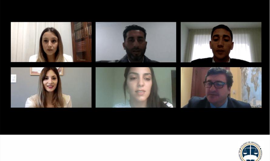 Nuevos matriculados: Abogados prestaron juramento virtual