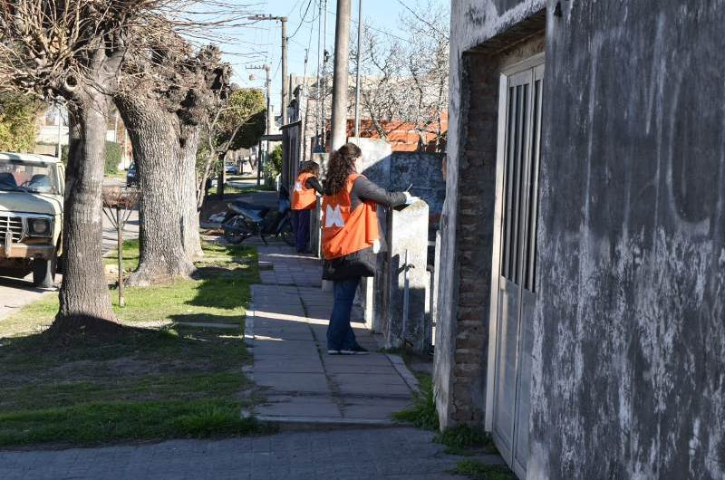 Barrio San José recibió al Comité Operativo de Emergencia