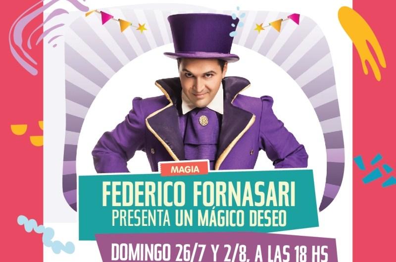Federico Fornasari con funciones online para el Konex