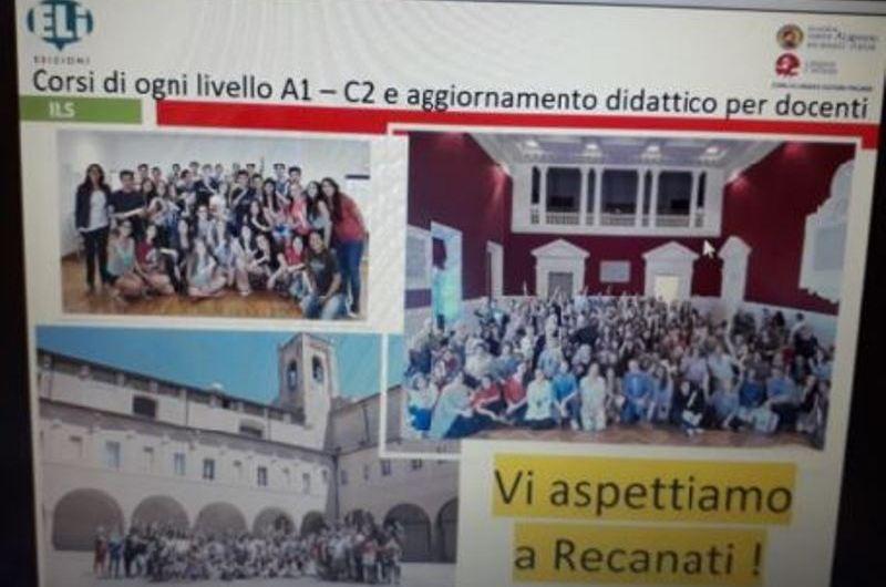 Docente de la Sociedad Italiana de Mercedes participó de capacitación online