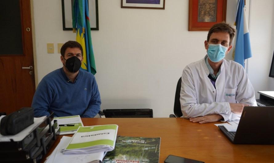 """Ustarroz: """"hoy el diagnóstico es mejor que la semana anterior, pero lo que sucede en AMBA no significa no tenga un impacto en nuestra localidad"""""""