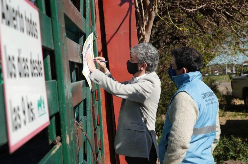 Ambiente de Nación clausuró el zoológico de Luján