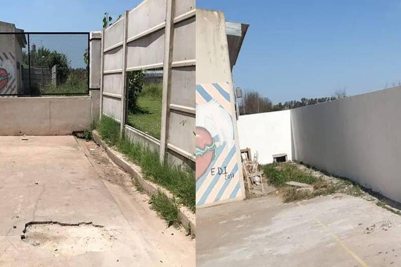 Obras en los edificios de escuelas del partido de Mercedes