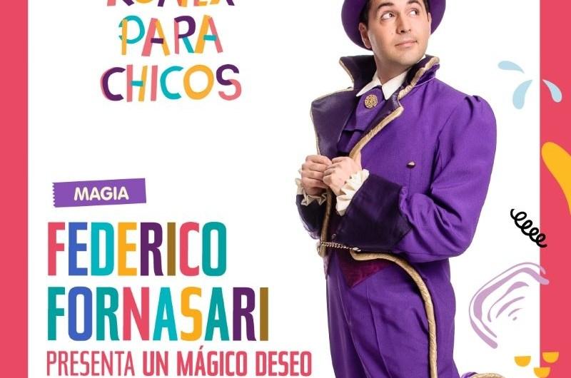 El mago Federico Fornasari vuelve al Konex para chicos