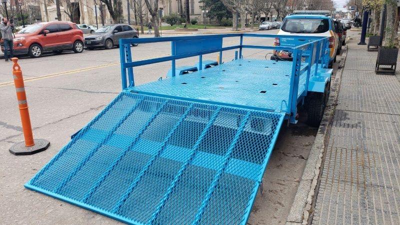 Seguridad Vial nacional envió complemento para el acarreo de vehículos