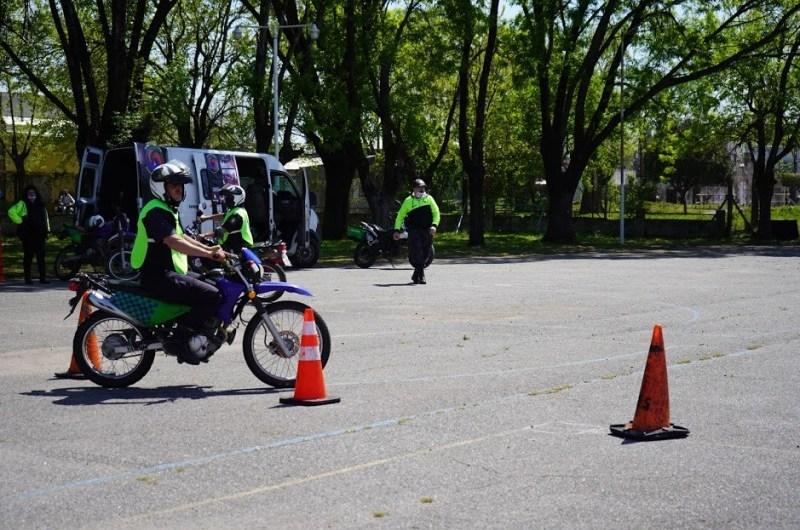 Capacitación para el personal de seguridad motorizado