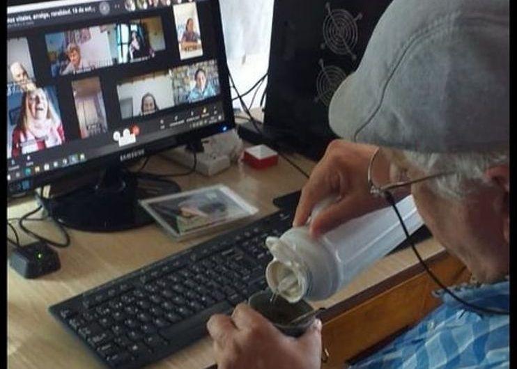Encuentro Virtual con la Asociación INCLUIR