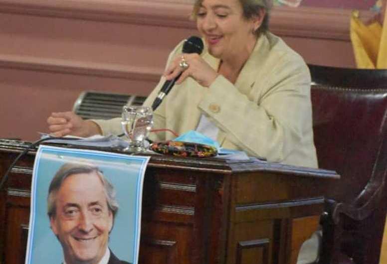 Concejales homenajearon a Néstor Kirchner en la sesión del lunes