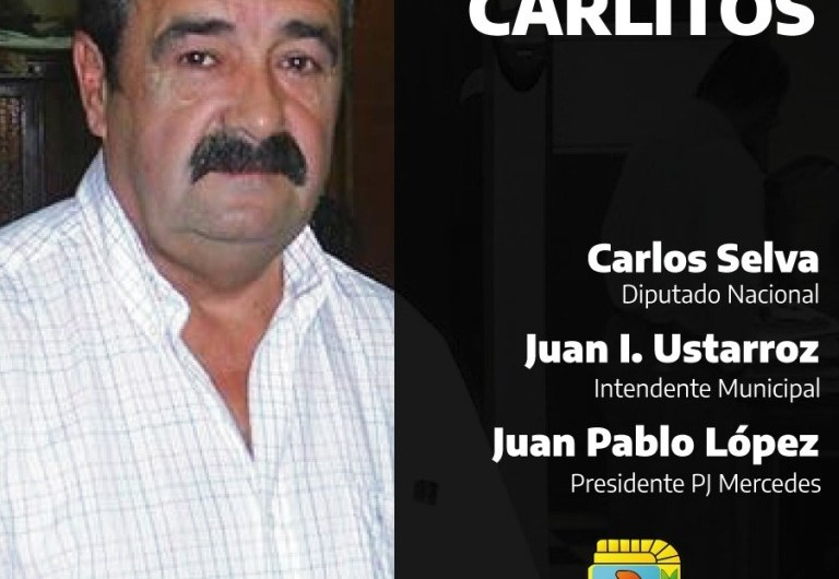 El Partido Justicialista despide a Carlos Palleros