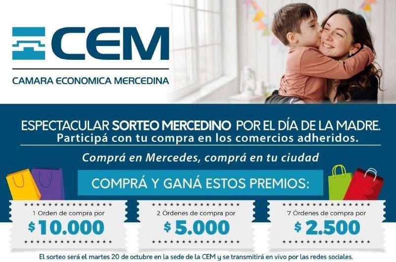 La CEM y 90 comercios organizan sorteo especial por el Día de la Madre