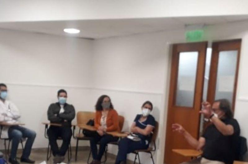 Trabajo y capacitación entre el Dubarry y Clínica Nueva Cruz Azul