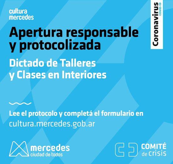 Autorizan el dictado de clases y talleres en el interior de los Centros Culturales