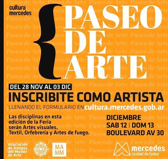 Convocan a artistas para el Paseo de Arte