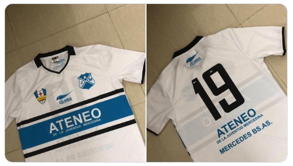 Ateneo de la Juventud dio a conocer su nueva camiseta para el torneo de verano de la Liga Mercedina