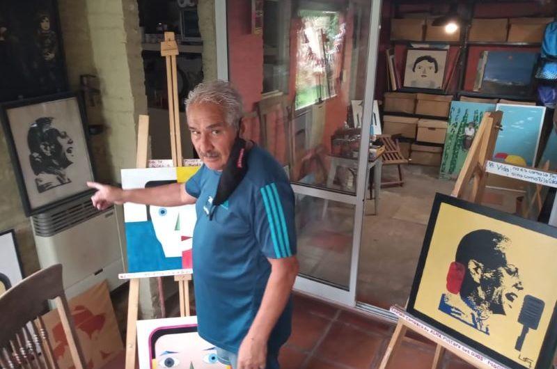 La obra plástica de Miguel Verón contada en primera persona