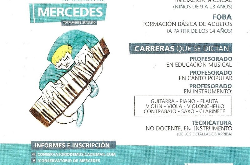 Preinscripción al Conservatorio de Música