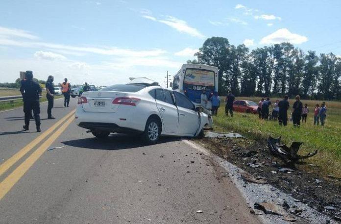 Identificaron a la persona fallecida en la Ruta 5 en el siniestro vial del viernes