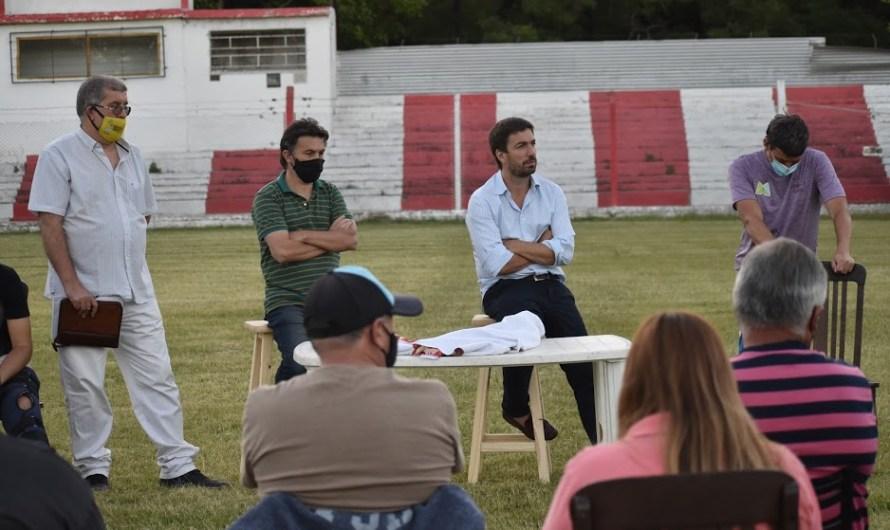 Ustarroz participó de encuentro en Liga Mercedina y anunció apoyo municipal