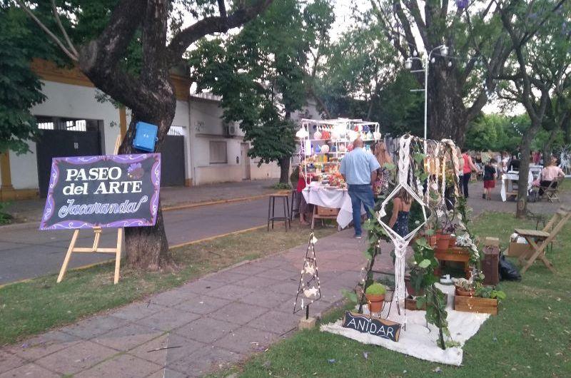 Este domingo será el segundo día del Paseo de Arte «Jacarandá»