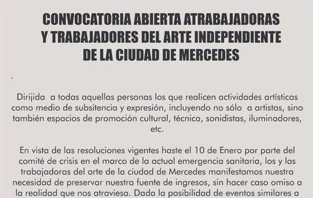 Representantes del Arte Independiente se convocan para reunirse con Cultura