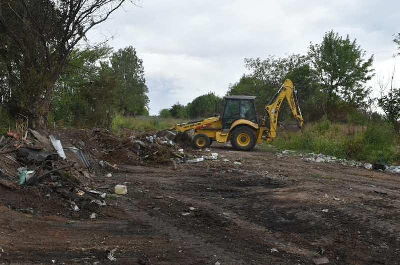Erradican basurales e instan a tomar consciencia en el cuidado ambiental y descarte de residuos