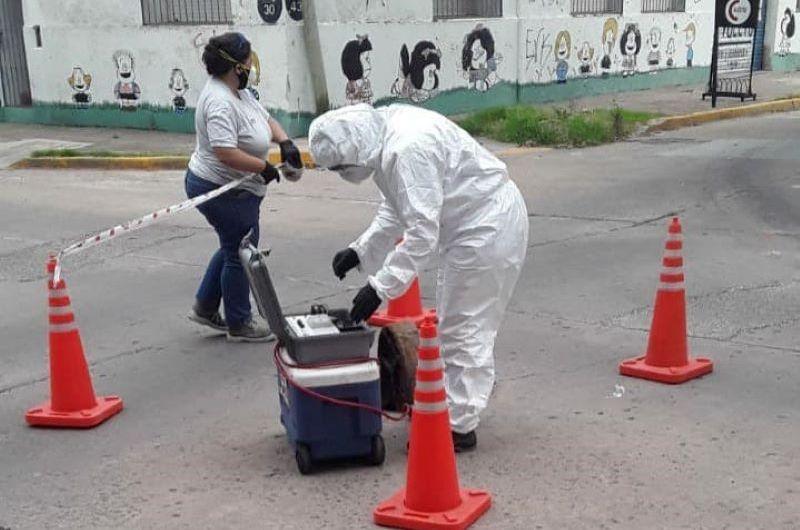 """Nuevo estudio de """"huellas covid"""" entre UNQui, OPDS y Municipio"""